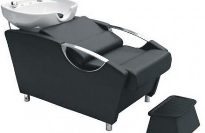 Comfortable salon bowls shampoo reclining bed barber hair backwash units