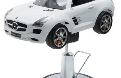 Hydraulic hair salon barber chair kids plastic car for baby driving