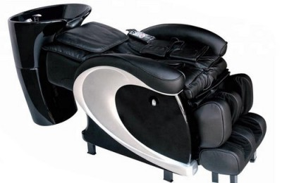 luxury reclining bed used washing electric massage hair washing salon shampoo chair