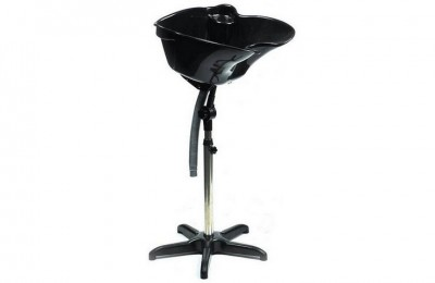 Portable Salon Shampoo Basin Shampoo Sink with Drain Adjustable Height