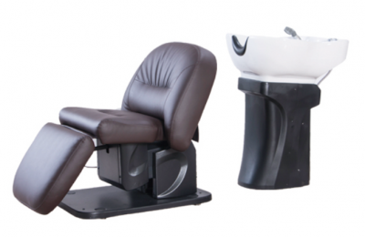 Electric shampoo chair hair wash equipment hair salon massage furniture