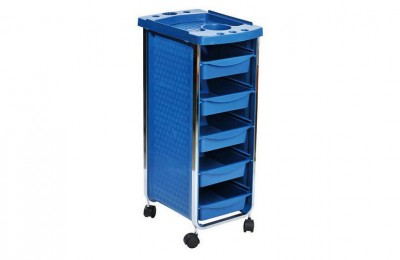 Discount plastic hair salon trolley beauty makeup storage cart with trays barber furniture