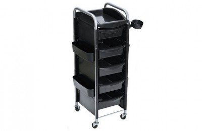 Wholesale Rolling Utility Storage Tray Cart Hair Salon furniture Trolley Barber Station