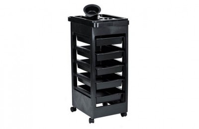Canada Hair Salon Instrument Storage Cart Rolling Trolley Equipment Beauty Tools on wheels