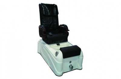 Beauty nail salon equipment spa pedicure chair foot massage station with basin