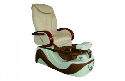 Luxury manicure pipeless pedicure foot station spa massage chair with bowl