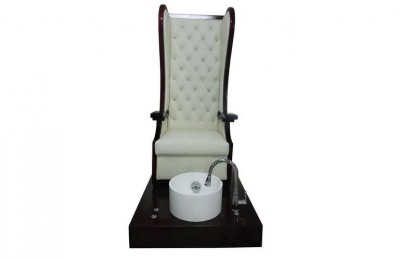 High back nail salon King throne manicure bowl pedicure chair foot spa massage sofas