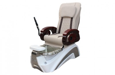 Electric nail salon spa foot massage station manicure pedicure chairs with bowl