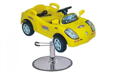 Colorful cartoon kids toy barber chair children hairdressing hydraulic car seat