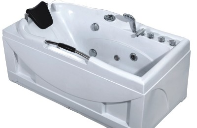 Single Person Portable ABS Massage Bathtub Cheap Whirlpool Bathtub