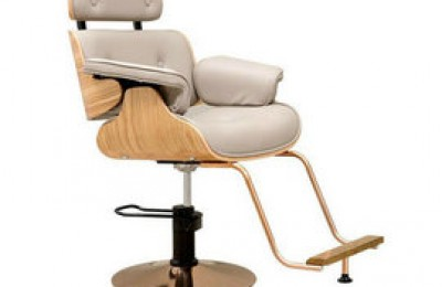 New lady wooden salon hair styling chair hydraulic makeup chairs for barber