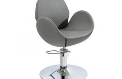Ergonomic salon furniture lady hair styling chairs hairdressing seating