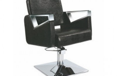 Low price Black Hydraulic Swivel Salon Hair Styling Chair for Barber Shop