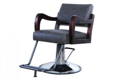 Wood Barber Furniture Salon Styling Chairs Makeup Station
