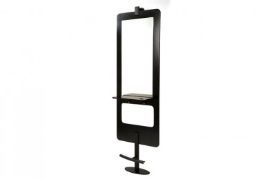Low price stand beauty makeup mirrors glass styling station