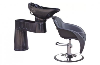 Portable Salon Hair Washing Units Shampoo Chairs with Basin