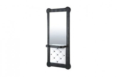 Cheap barber shop glass styling station salon makeup mirrors
