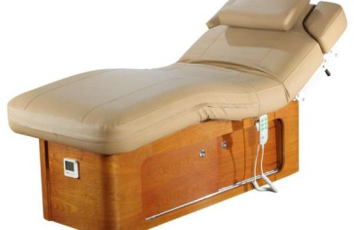 Luxury electric wood massage table facial bed spa equipment