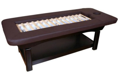 Cheap spa face steam bed body massage table