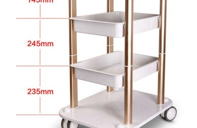 Color Hairdressing Trolley Styling Station Beauty Salon Manicure Nail Pedicure Tools Storage Cart Cabinet Drawers