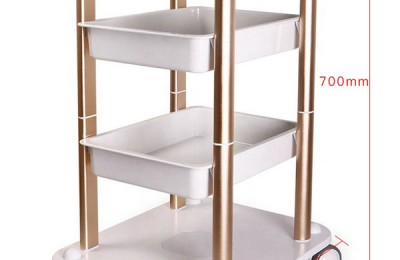 Portable Beauty Salon Manicure Nail Spa Pedicure Medical Tools Storage Cart Cabinet Drawers Facial Hairdressing Trolley Styling Station