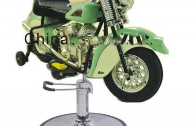 Hairdressing Music Baby Driving Toy Motorcycle Car Children Barber Stool Hydraulic Kids Salon Haircut Chair