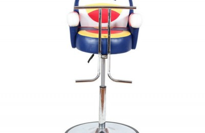 Children Styling Stool Furniture Baby Hairdressing Seating Adjustable Height Barber Cartoon Soft Kids Salon Haircut Chair