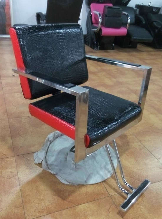 Outstanding Meatl Barber Chair Suppliers With Footrest Hairdressing Bralicious Painted Fabric Chair Ideas Braliciousco