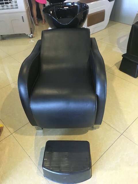 Barber chair shampoo backwash units tattoo chairs for Salon basins for sale
